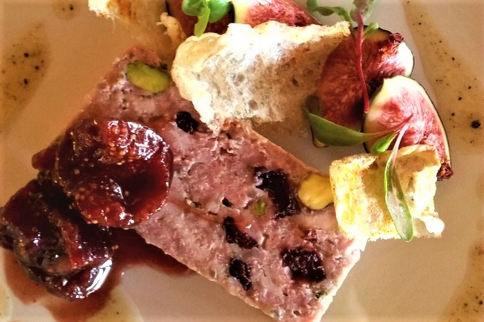 Country Terrine with figs