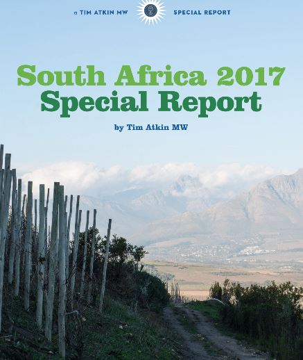 Tim Atkin 2017 SA Report