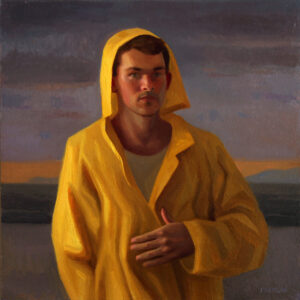 self portrait raincoat