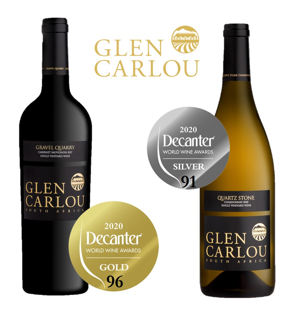 Glen Carlou Decanter Awards 2020
